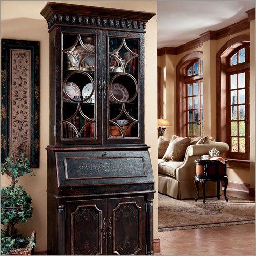 Buy Hooker Furniture Seven Seas 37u2033 W Black Secretary Online .
