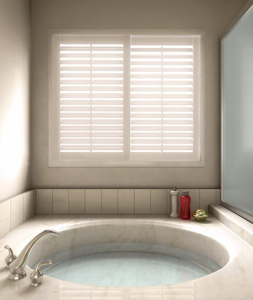 Woodcore Fauxwood Shutter Blinds Com Wood Shutters Curtains Living Room Rustic Curtains