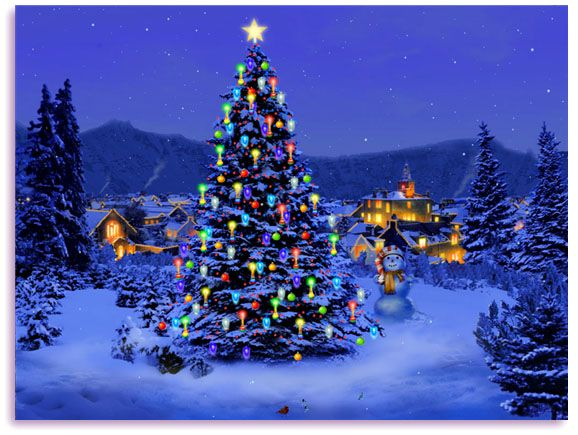 Free Animated Christmas Screensavers   Christmas Tree