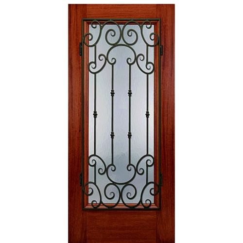 Dt 22 Mon 1. Grill DesignExterior DoorsWood ...