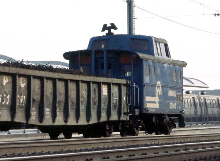 ex PRR N5C Class, 23067  New Carrolton April 1979