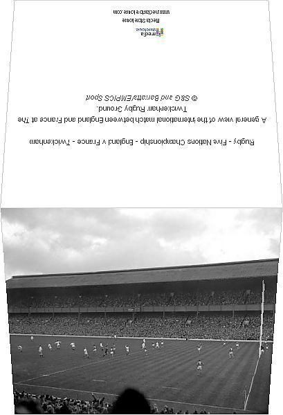 Greetings Card Rugby Five Nations Championship England V France Twickenham Photo Greetings Card Made In Th In 2020 Photo Greeting Cards Rugby Nations Card Making