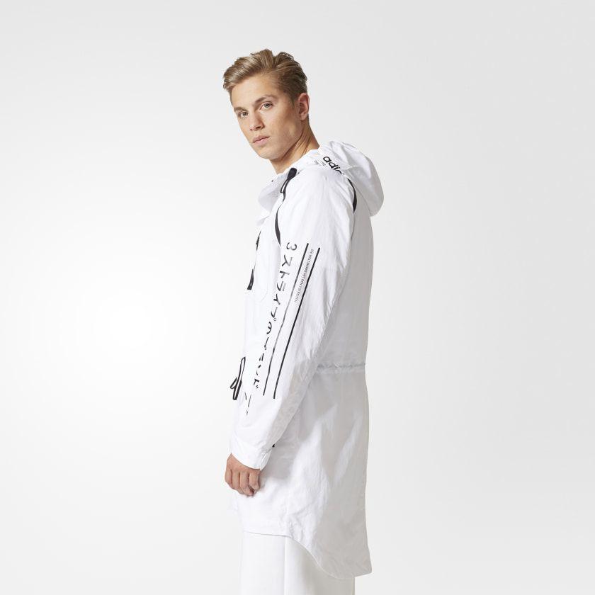 Utility Jacket White CE5635 | Mens