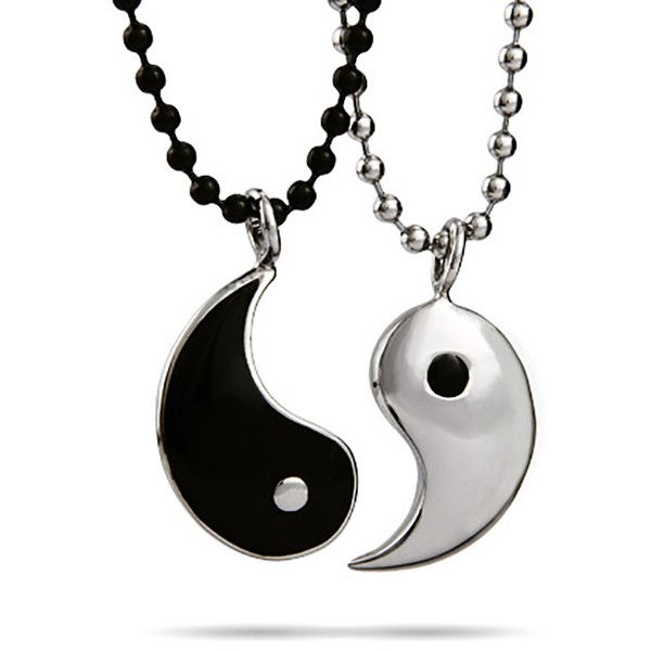 Friendship Pendant Necklace Yin yang friendship pendant eves addiction 24 liked on yin yang friendship pendant eves addiction 24 liked on polyvore featuring audiocablefo