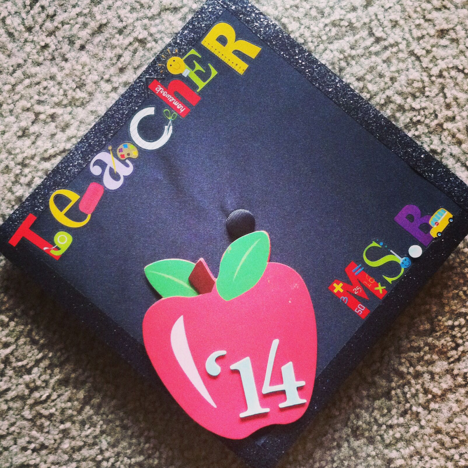 Decorating graduation cap ideas for teachers - Graduation Cap Teaching Elementary Education