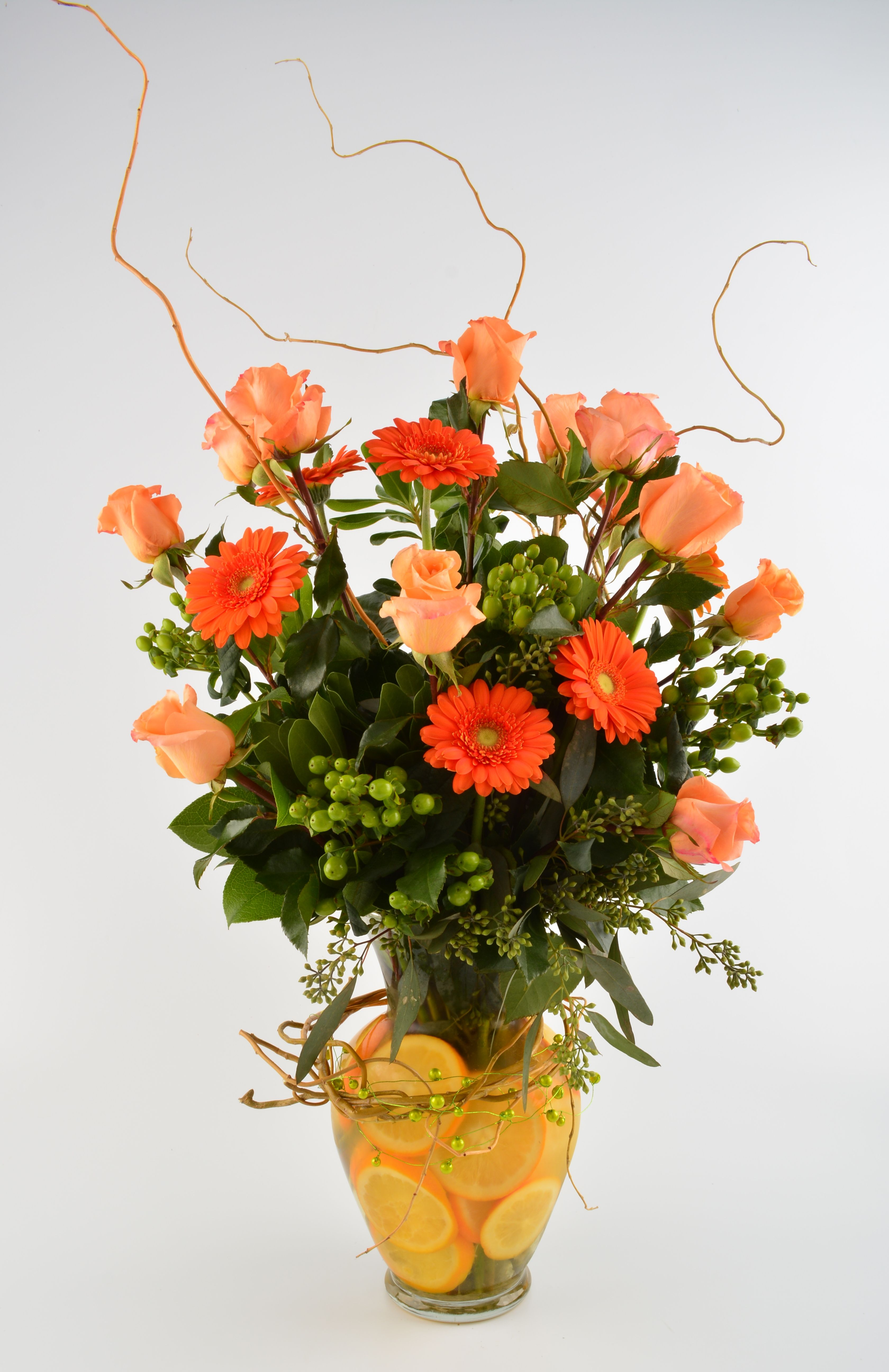 Rose Collection - Dreamsicle #rose #gerbera
