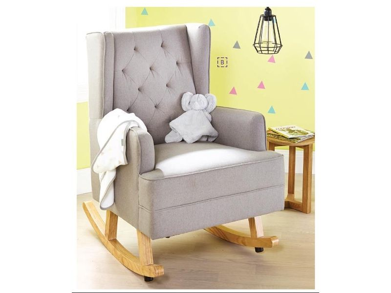 bebe care regent glider heather grey nursery inspiration. Black Bedroom Furniture Sets. Home Design Ideas
