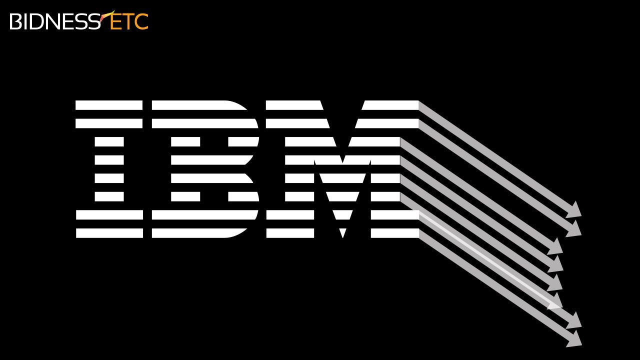 IBM posts lowest quarterly revenues in five years but remains committed to meeting earnings per share targets