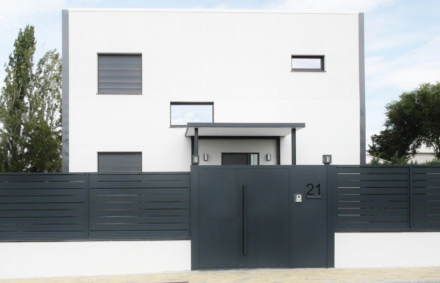 Casa prefabricada qcasa construida en madrid vivienda de - Casa prefabricada acero ...