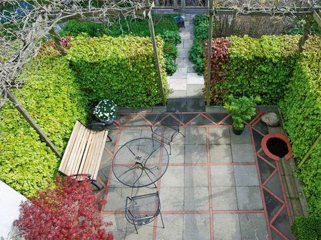 Terrasse: Alte Betonplatten aufpeppen Ideen Garten und