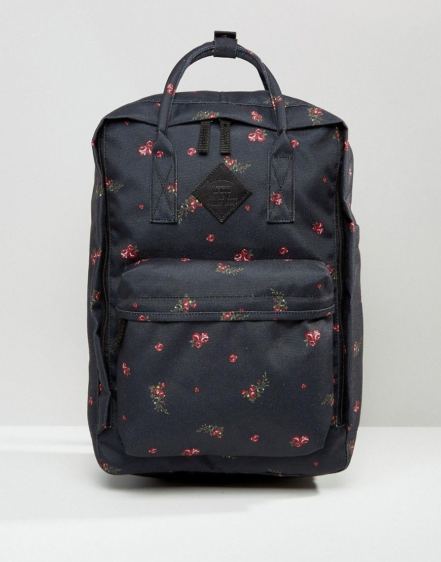 Vans Icono Square Backpack In Floral Print at asos.com