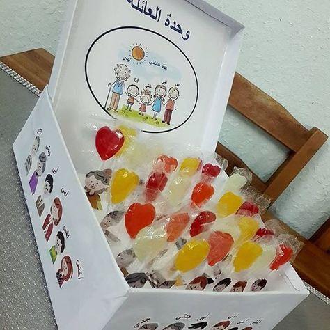 وحدة العائلة مشاركة من الجميلة لطفلها بالروضة Meeme Love ماشاء الله رياض اطفال روضه افكار رو Toddler Learning Activities Islam For Kids Shapes Activities
