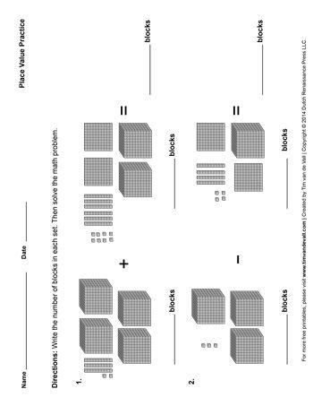 Printable-Place-Value-Worksheet-350 szkoła Pinterest - place value worksheet