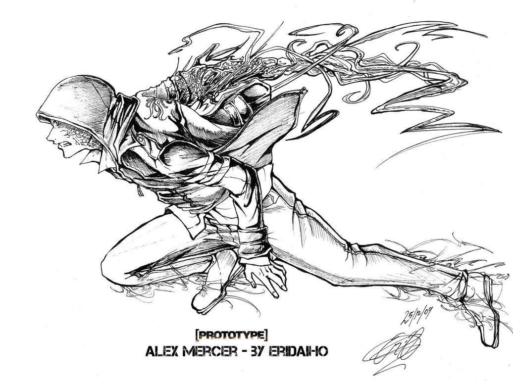 p  alex mercer by eridaiho on deviantart