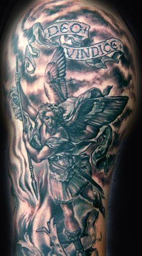 St Raphael Tattoo : raphael, tattoo, Tattoo, Raphael