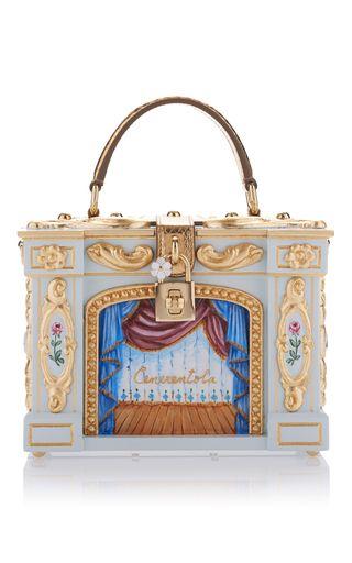 6b0909028fa5 This   Dolce   Gabbana   box bag features an elegant Rococo-style design…