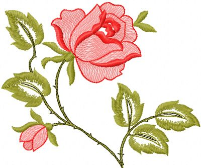 Free Machine Embroidery Design Downloads Of Flowers  X