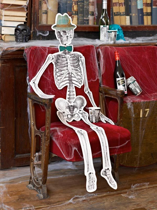 Talking Tables Skeleton Crew Party Decor - http//www