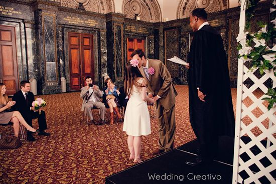 Courthouse Wedding At The Chicago Cultural Center Entries Creativo Blog City Hall