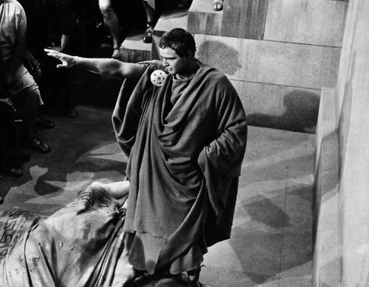 Marlon Brando En Julio Cesar Julius Caesar