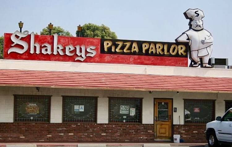 Pin by Diane gianoli on fun old places we ate Shakeys