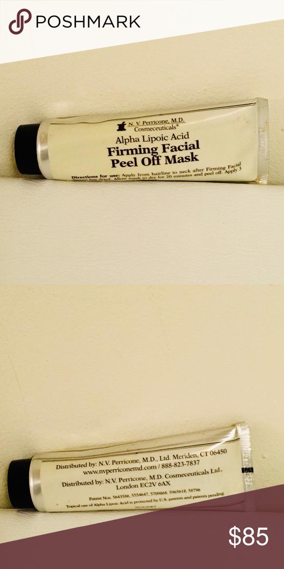 Alpha lipoic acid and facial peel curiously
