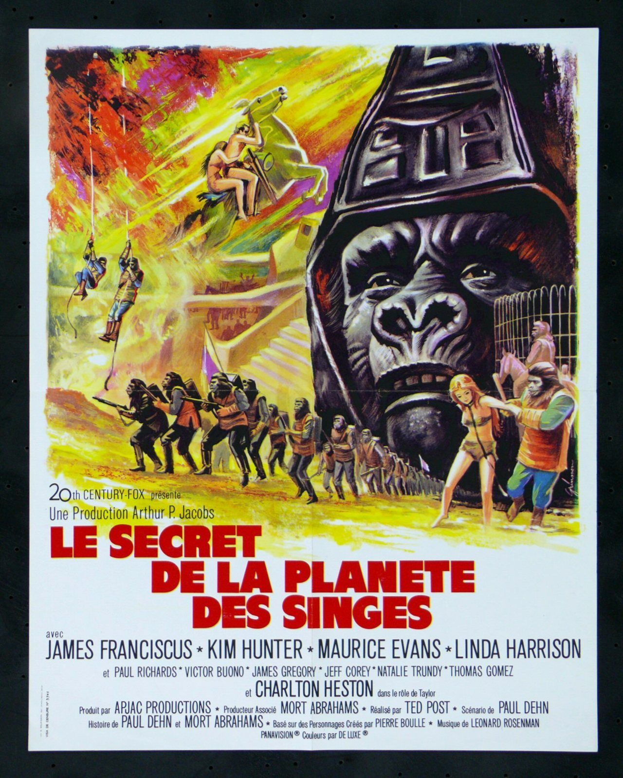 Beneath The Planet Of The Apes 1970 French Poster Con Imagenes Planeta De Los Simios Cine Fantastico Linda Harrison