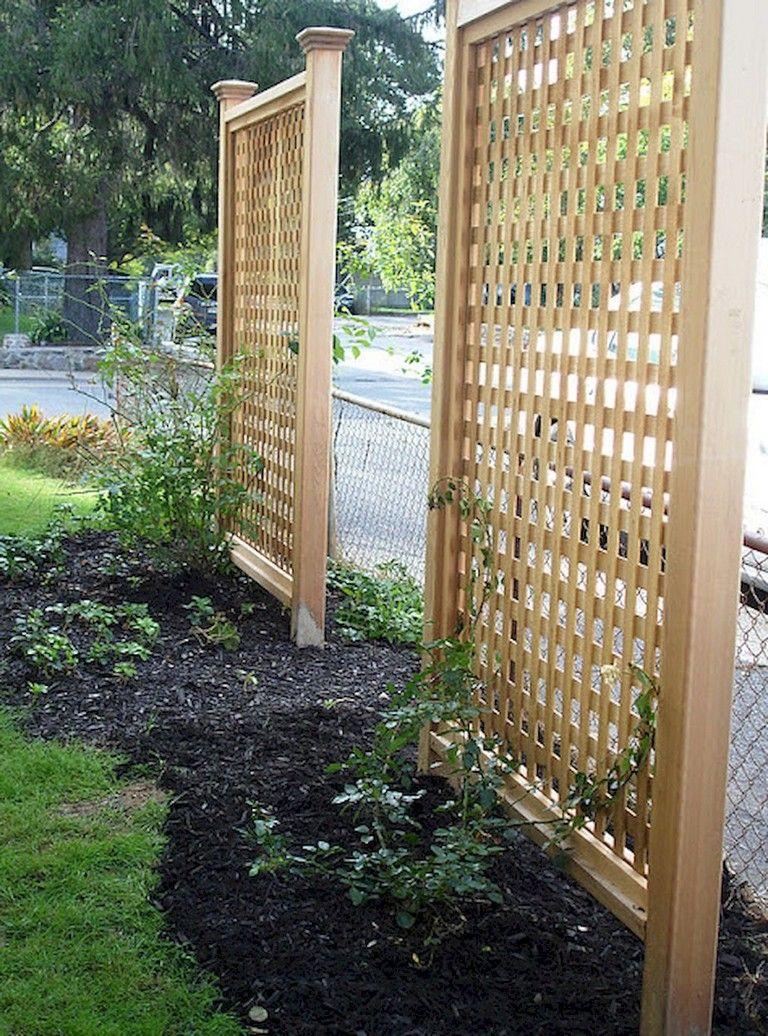 73 Simple Backyard Privacy Fence Design Ideas Fence Design