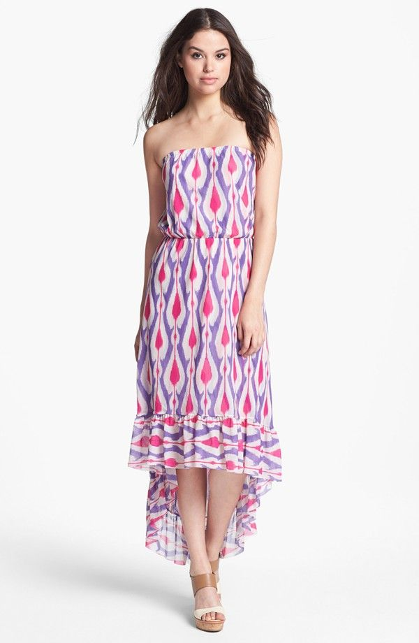 Sweet Pea Stripe High Low Maxi High Low Maxi Dress Dresses
