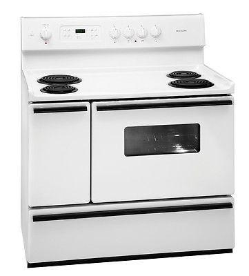 New Frigidaire White 40 Electric Range Kitchen