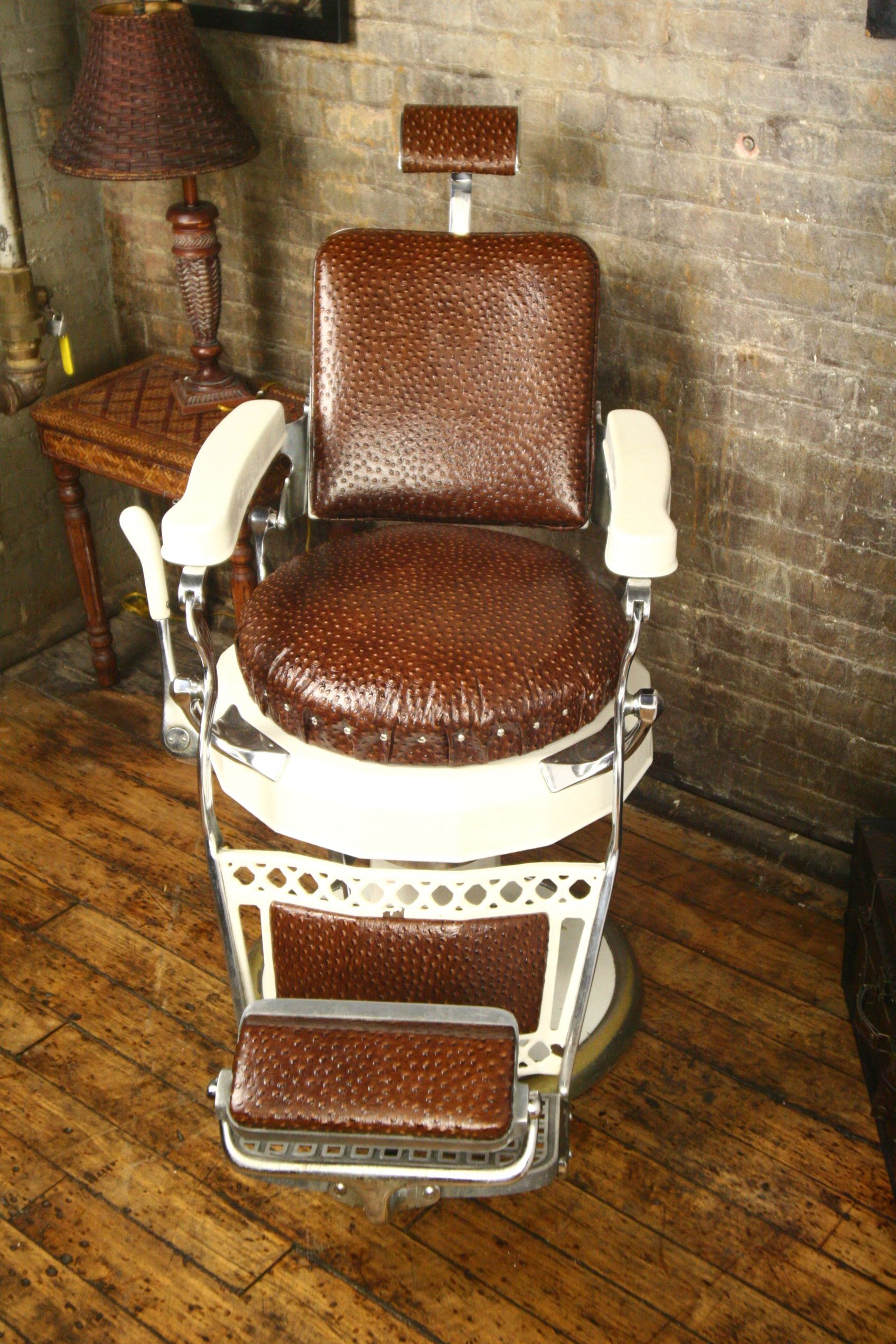 vintage barber chair replicas Google Search