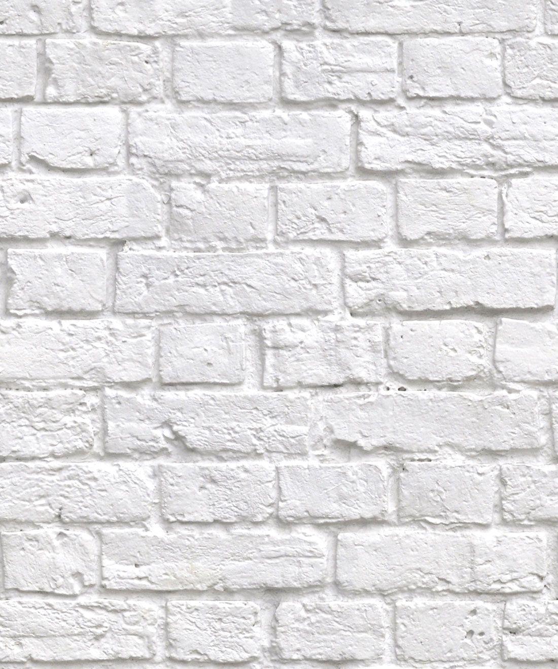 Soft White Bricks Wallpaper Realistic Accurate Bricks Milton King In 2021 White Brick Wallpaper Removable Brick Wallpaper Brick Wallpaper