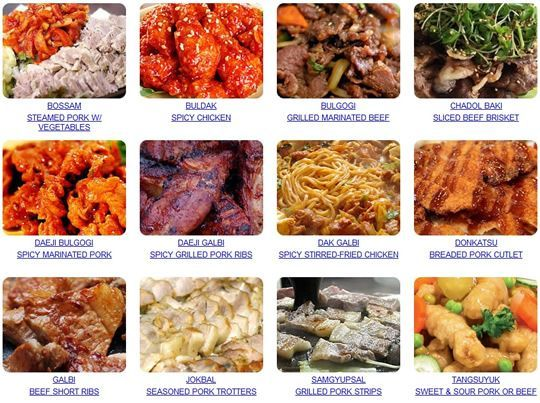 Authentic trifood your guide to korean food and restaurants korean food link great interpretations and recipes forumfinder Image collections