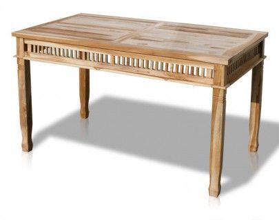 Teak Tisch Colonial 140x80 Cm 102055 Teak Teak Esstisch