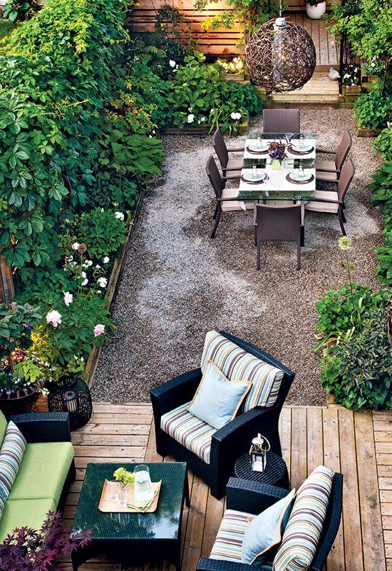 maximize outdoor space