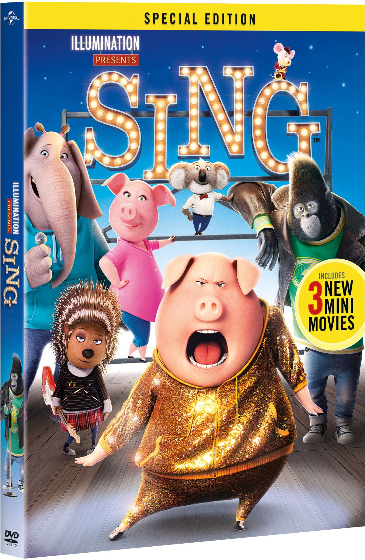 The SING Special Edition is Coming in March   The special edition will include over an hour of bonus content and three all-new mini movies.  via @todaysmama