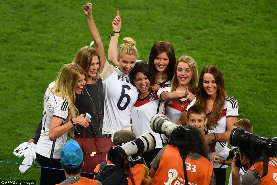 Germany Celebrate World Cup Triumph Over Argentina World Cup 2014 World Cup Soccer World