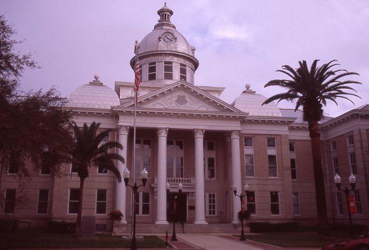 Polk County Courthouse Bartow Florida Bartow Florida