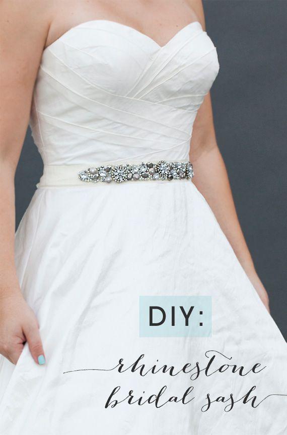 Aprende a hacer un cinturón decorativo para tu vestido. #DIY #HowTo ...