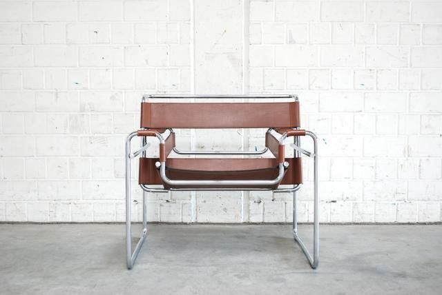 This Wassily Chair By Marcel Breuer Was Produced By Gavina And