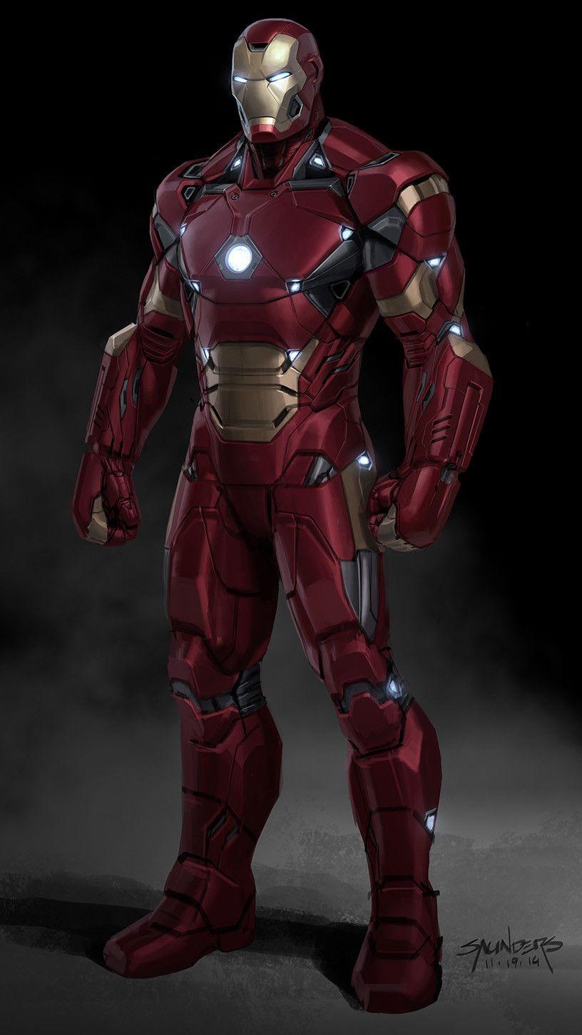 Artstation Iron Man Mk46 Phil Saunders Iron Man Movie Iron Man Suit Iron Man