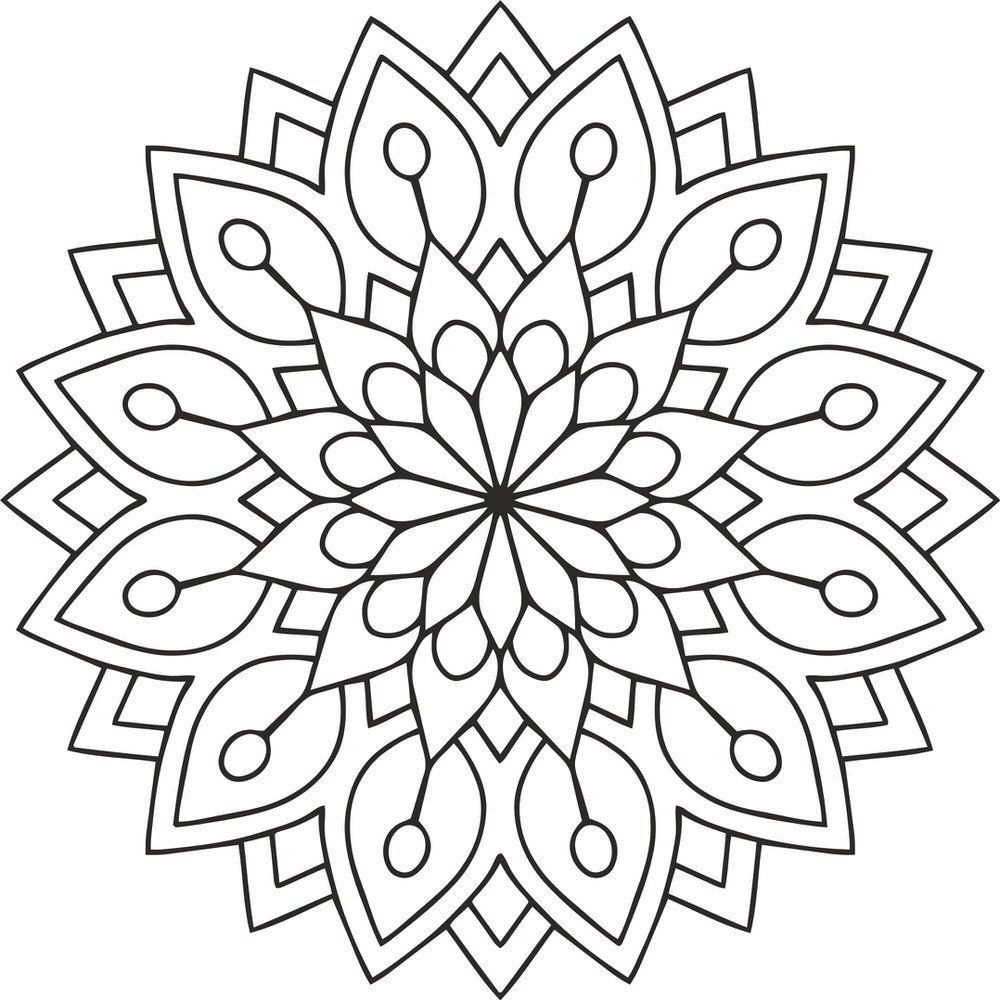 Mandala Des Flower Eps Amee House Mandala Kleurplaten Kleurplaten Bloemen Mandala