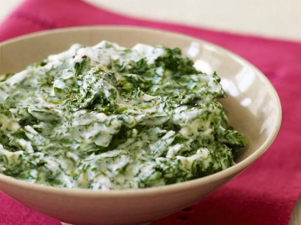 Best christmas recipes dishes dinner sides more food network creamed spinach serve this simple classic side at your christmas meal food network forumfinder Choice Image