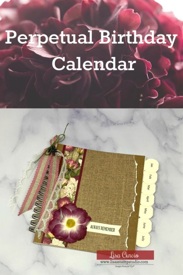 Learn How To Make A Perpetual Calendar For Birthday S With An Easy