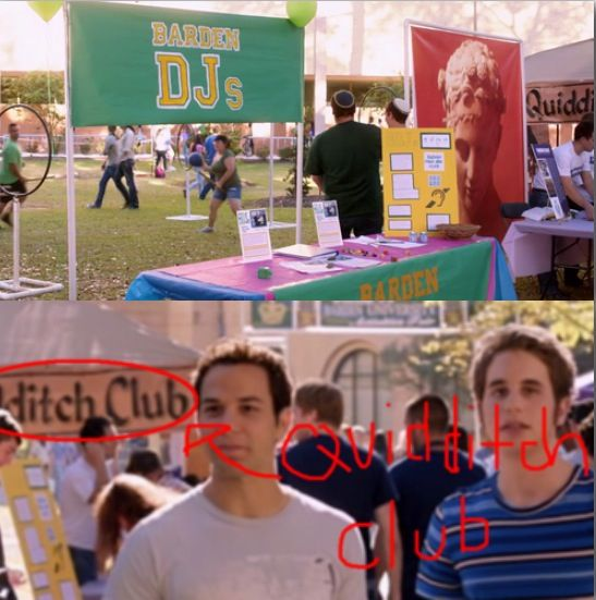 OMG quidditch in pitch perfect how did I  miss this!