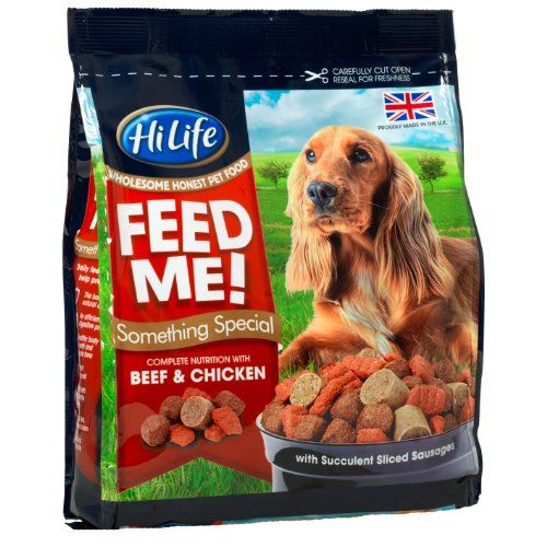 Hilife Feed Me Something Special With Beef Chicken 4 X 800g Bags