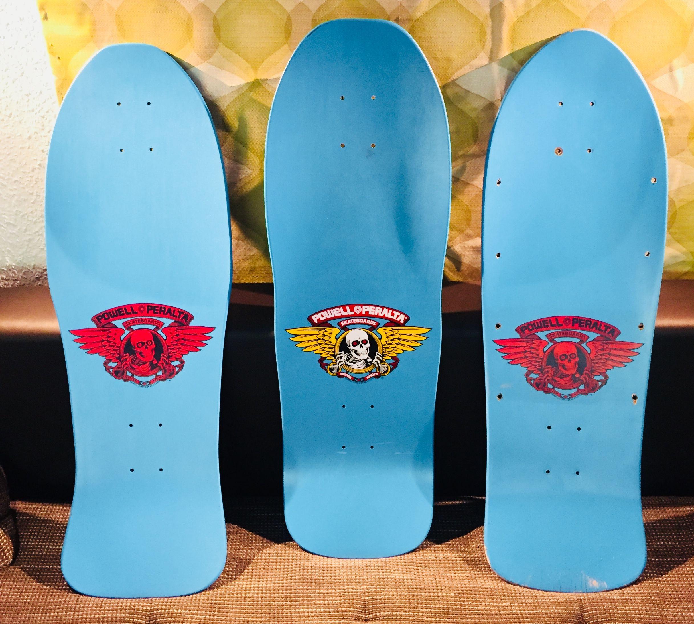 Powell Trio Topside Vintage Skateboards Powell Peralta Skateboard Art