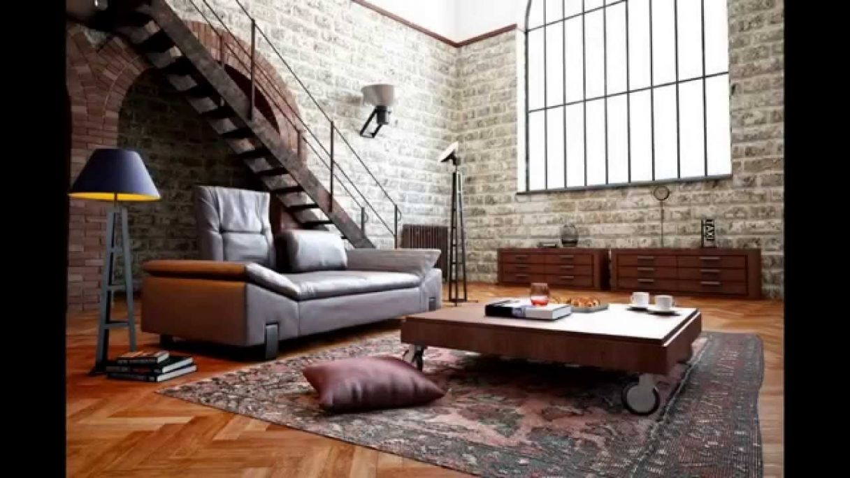 Lovely Wohnzimmer Wohnideen | Industrial Lofts/ Warehouse Living ...