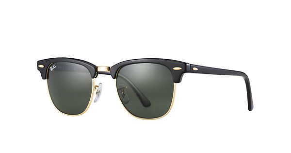 0e90c993e3b41 Shop Ray-Ban RB3016 W0365 49-21 Clubmaster Classic sunglasses at the Ray-Ban  USA online store. Free Overnight Shipping on all orders!