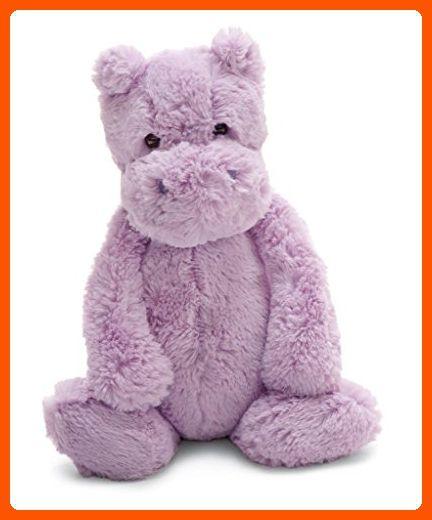 12 Inches Medium Jellycat Bashful Lilac Hippo Talkingbread Co Il